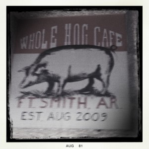 Whole Hog Cafe in Fort Smith, Arkansas